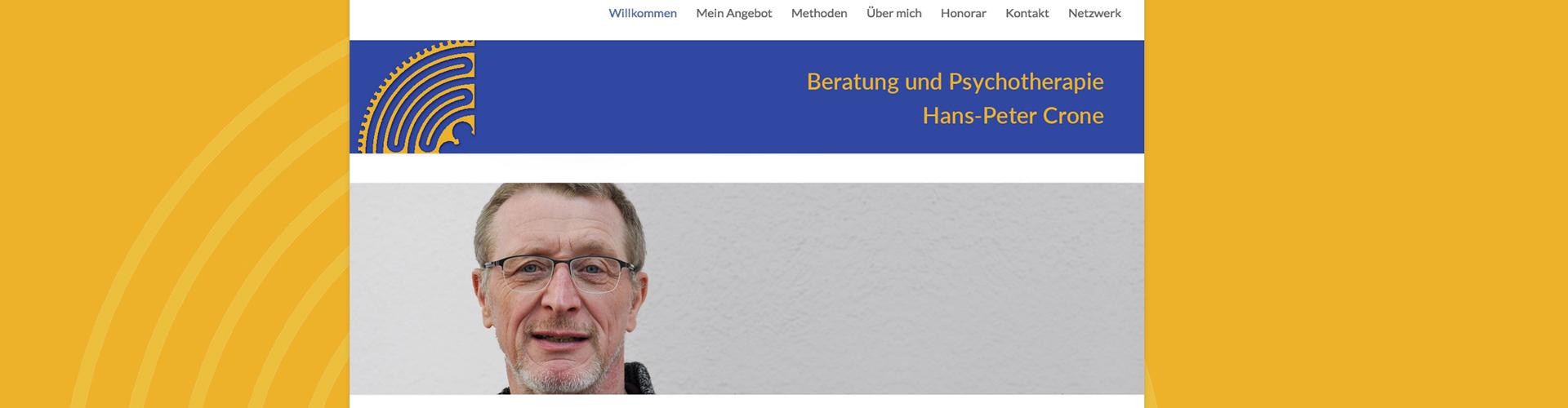 GraphikundGestaltung Grafik und Gestaltung Christoph Fincke Kunden: Hans-Peter Crone, Pschotherapeutsiche Praxis