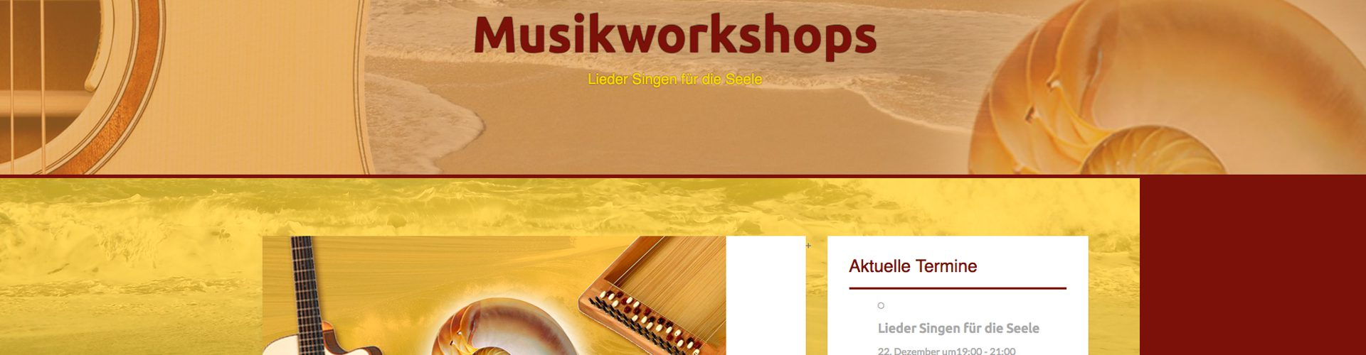 GraphikundGestaltung Grafik und Gestaltung Christoph Fincke Kunden: Musikworkshops